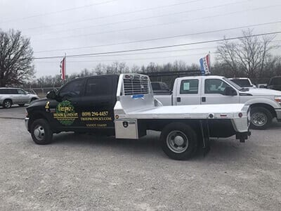 Work Truck | Tree Trimming Company near Lexington KY